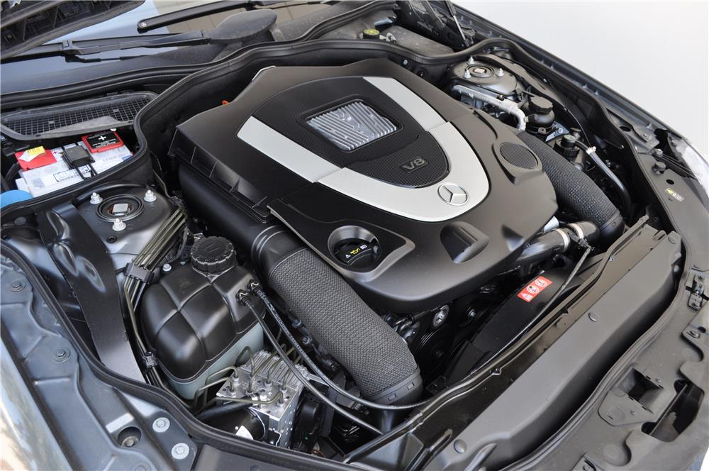 2009 MERCEDES-BENZ SL550 CONVERTIBLE - Engine - 184966