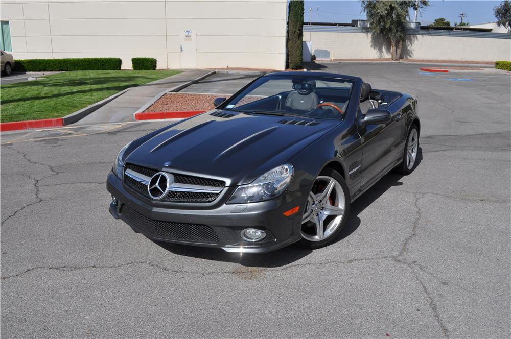 2009 MERCEDES-BENZ SL550 CONVERTIBLE - Front 3/4 - 184966