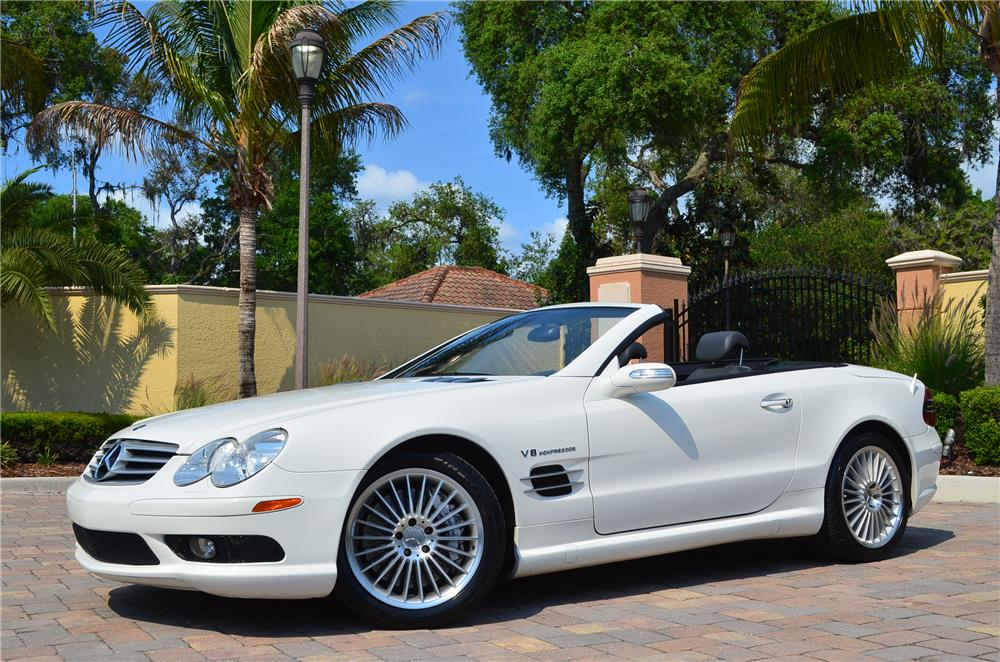 2006 mercedes benz sl55 amg roadster 184980