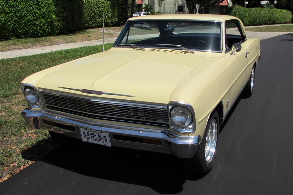 1966 CHEVROLET CHEVY II NOVA SS COUPE - Front 3/4 - 184986