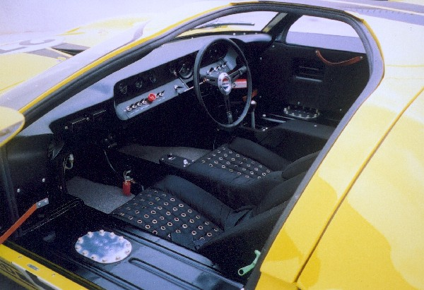 1966 FORD GT40 MK I COUPE - Interior - 18499