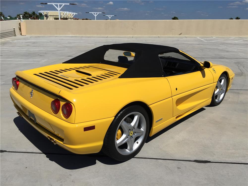 1997 FERRARI F-355 SPIDER - Rear 3/4 - 185046