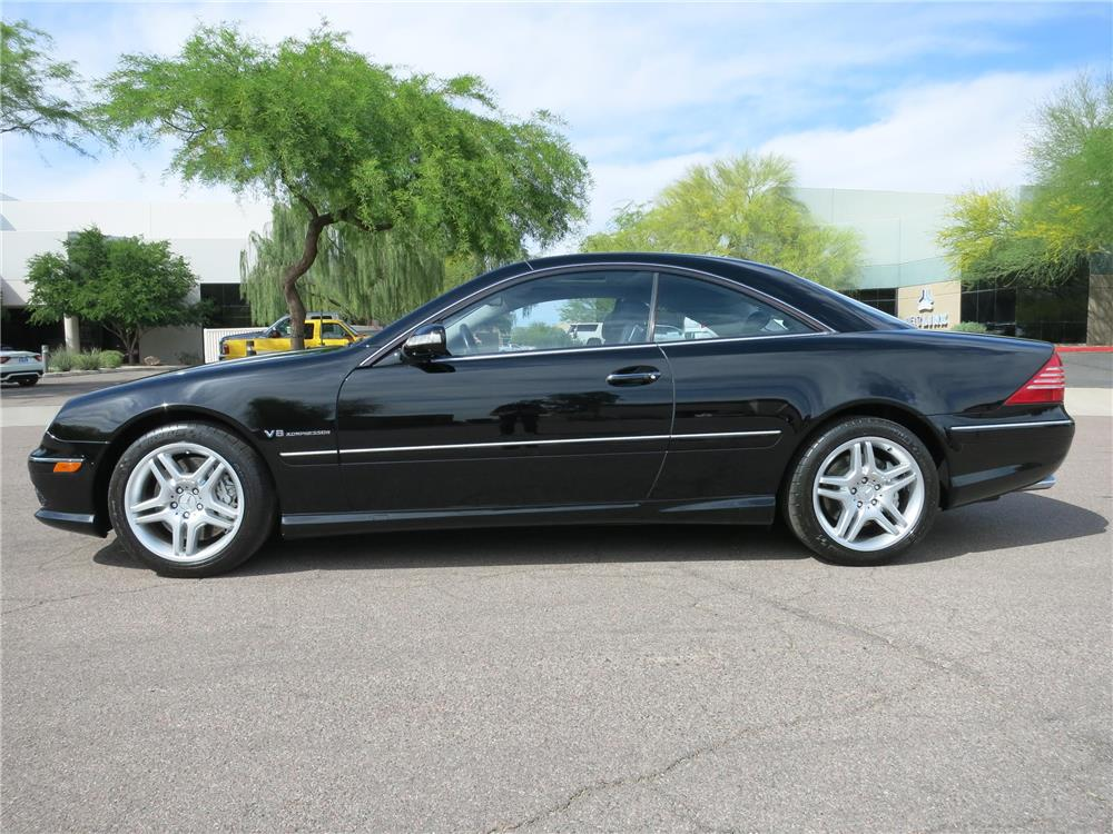 2003 mercedes benz cl55 amg 185049