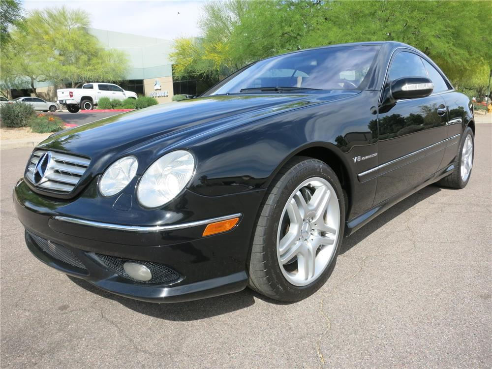 2003 MERCEDES-BENZ CL55 AMG  - Front 3/4 - 185049