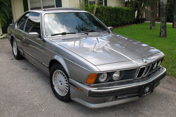1988 BMW 635 CSI COUPE - Front 3/4 - 185093
