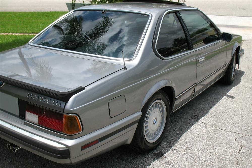 1988 BMW 635 CSI COUPE - Side Profile - 185093
