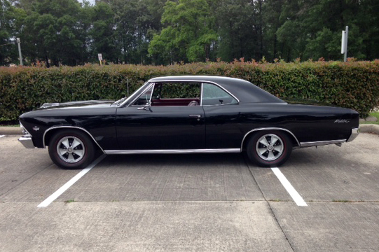 1966 CHEVROLET CHEVELLE HARDTOP - Side Profile - 185114