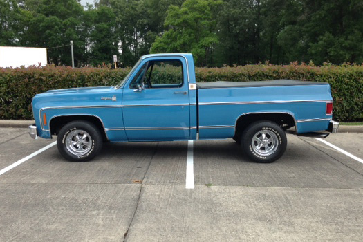 1978 CHEVROLET C-10 PICKUP - Rear 3/4 - 185250