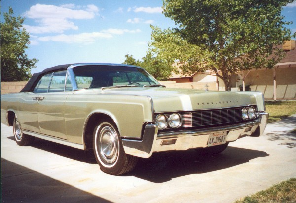 1967 LINCOLN CONTINENTAL CONVERTIBLE - 18539