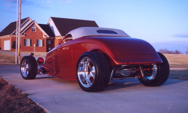 1933 Ford Roadster Rod Nawty 18540