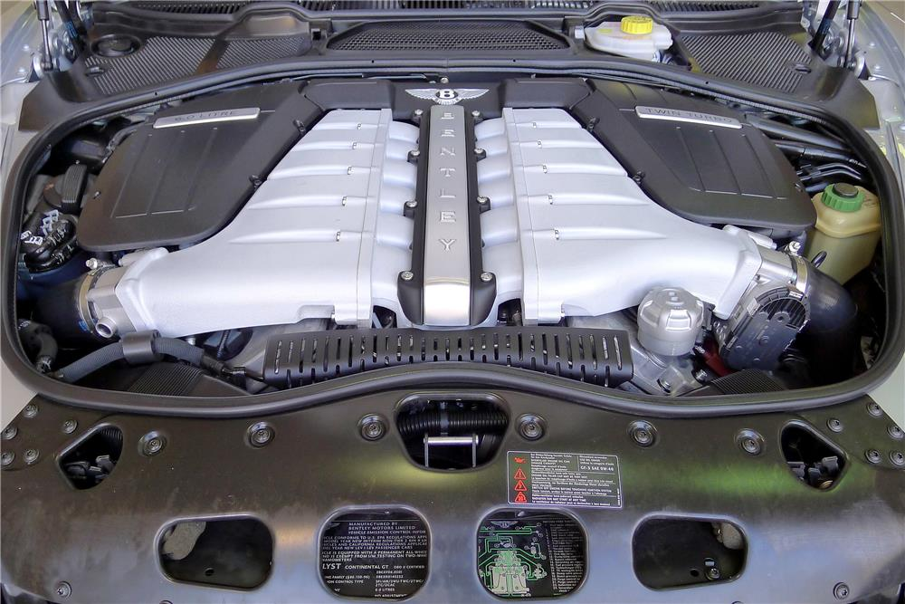 2005 BENTLEY CONTINENTAL GT  - Engine - 185479