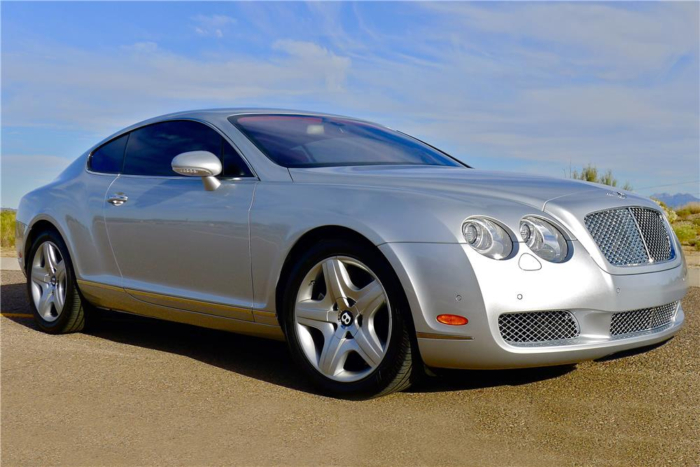 2005 BENTLEY CONTINENTAL GT  - Front 3/4 - 185479