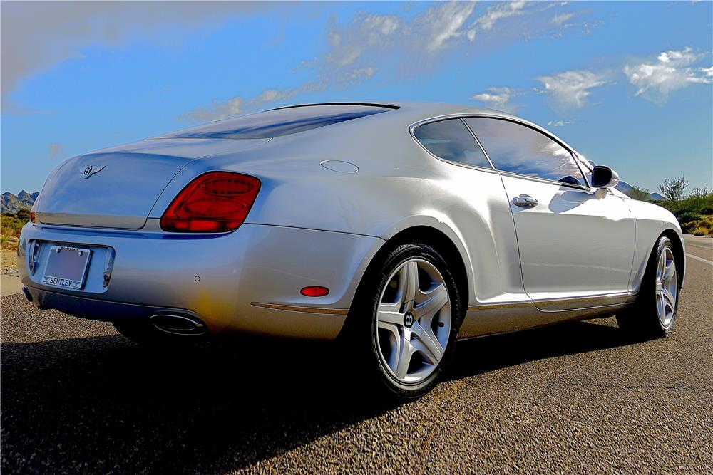 2005 BENTLEY CONTINENTAL GT  - Rear 3/4 - 185479