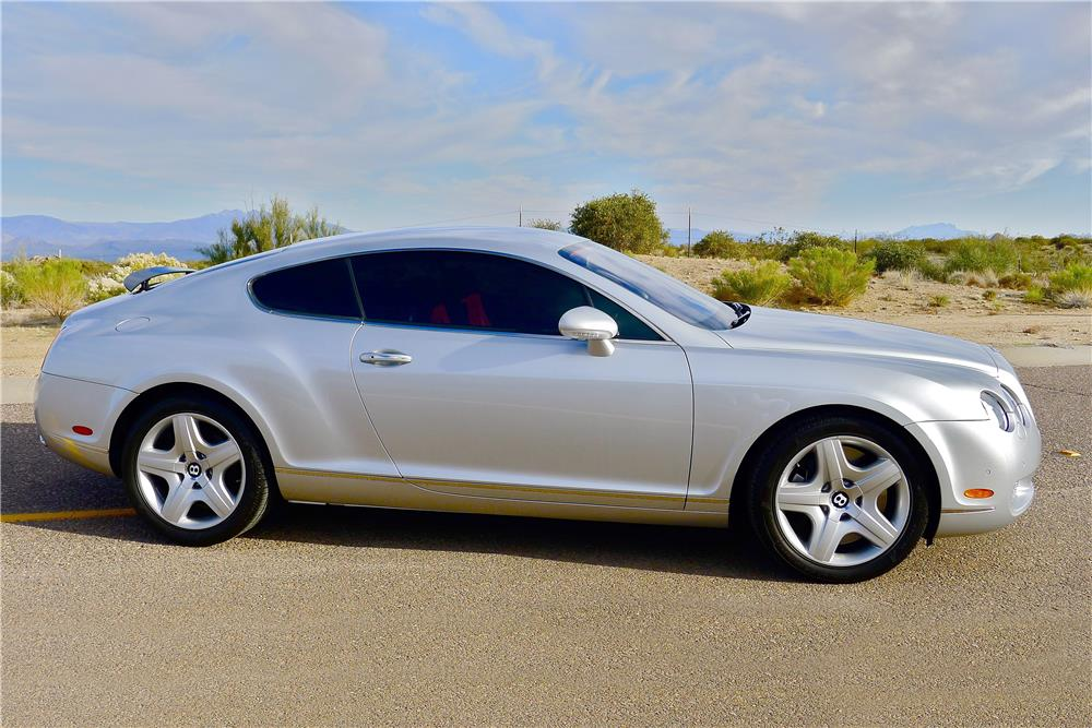 2005 BENTLEY CONTINENTAL GT  - Side Profile - 185479