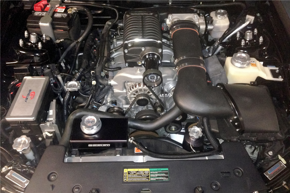 2008 FORD SHELBY GT BARRETT-JACKSON EDITION - Engine - 185480