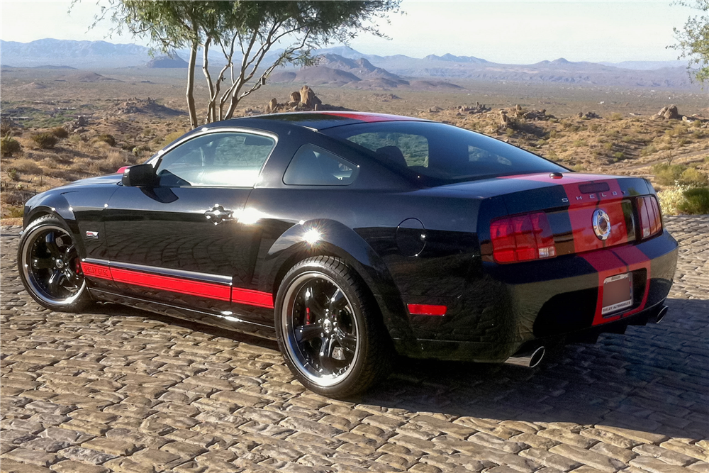 2008 FORD SHELBY GT BARRETT-JACKSON EDITION - Rear 3/4 - 185480