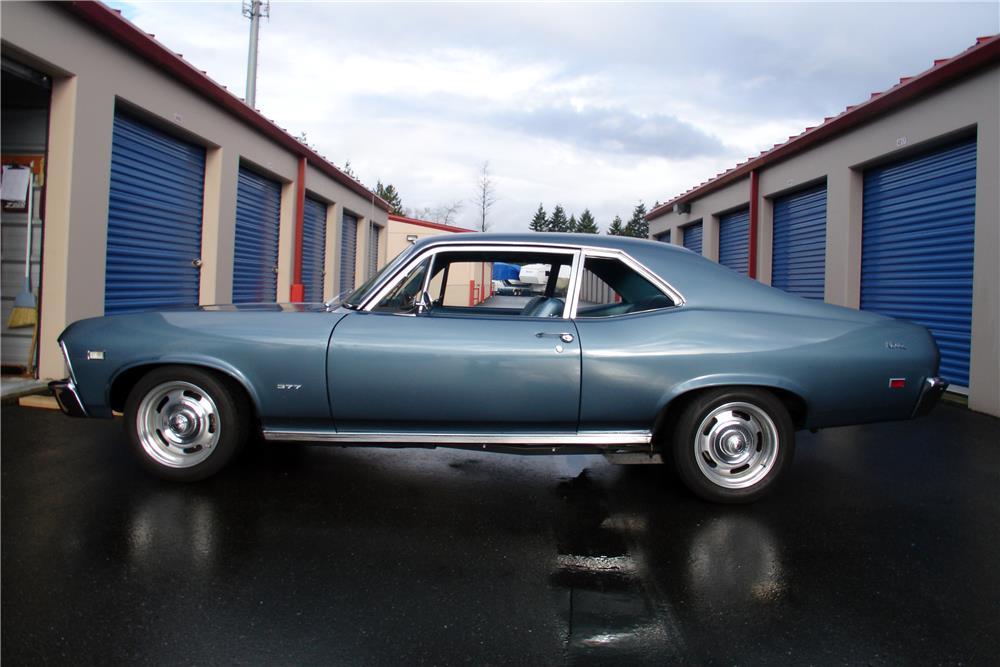 1968 CHEVROLET NOVA - Side Profile - 185486