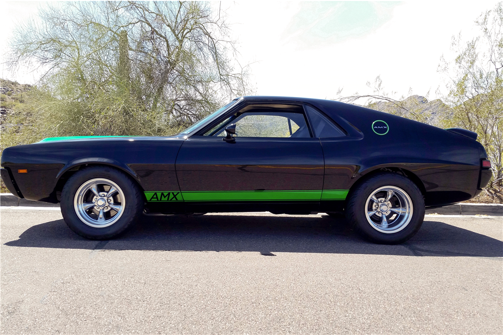 1968 AMERICAN MOTORS AMX CUSTOM COUPE - Side Profile - 185489
