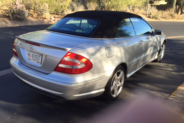 2005 mercedes benz clk500 convertible 185491 for Mercedes benz clk 2005