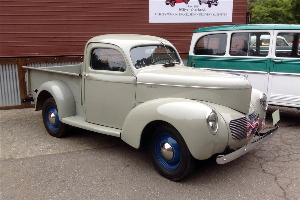 1940 WILLYS PICKUP - Side Profile - 185505