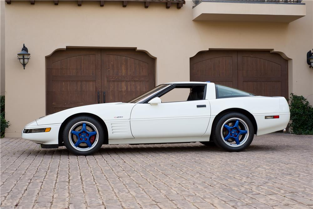 1991 CHEVROLET CORVETTE CALLAWAY ZR1 - Side Profile - 185515