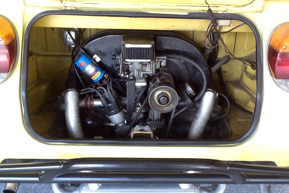 1974 VOLKSWAGEN THING CONVERTIBLE - Engine - 185519