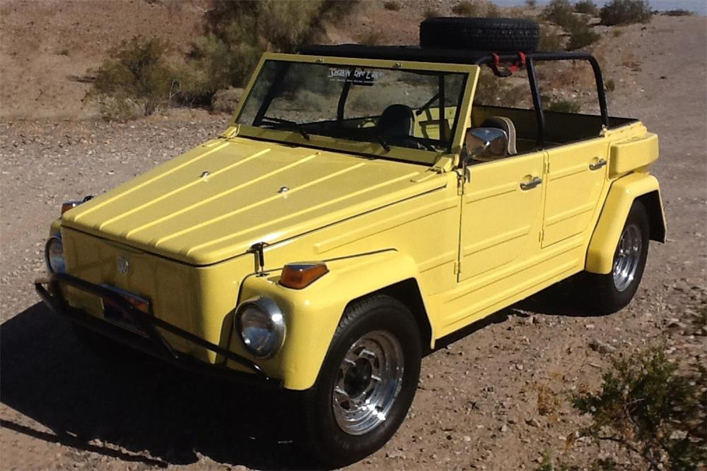 1974 VOLKSWAGEN THING CONVERTIBLE - Front 3/4 - 185519