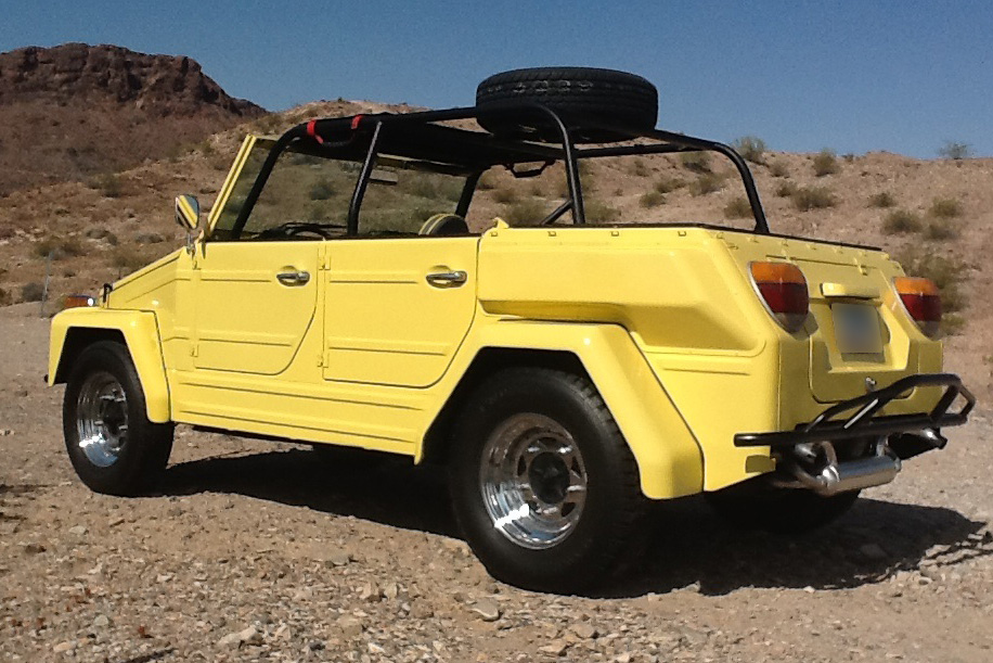 1974 VOLKSWAGEN THING CONVERTIBLE - Side Profile - 185519