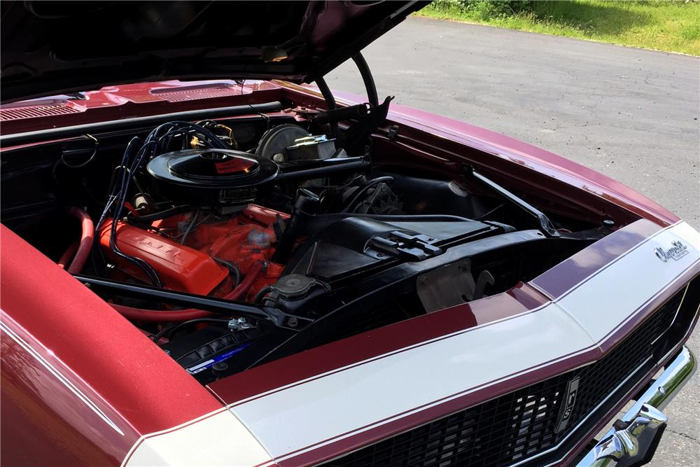 1967 CHEVROLET CAMARO - Engine - 185520