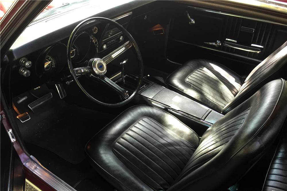 1967 CHEVROLET CAMARO - Interior - 185520