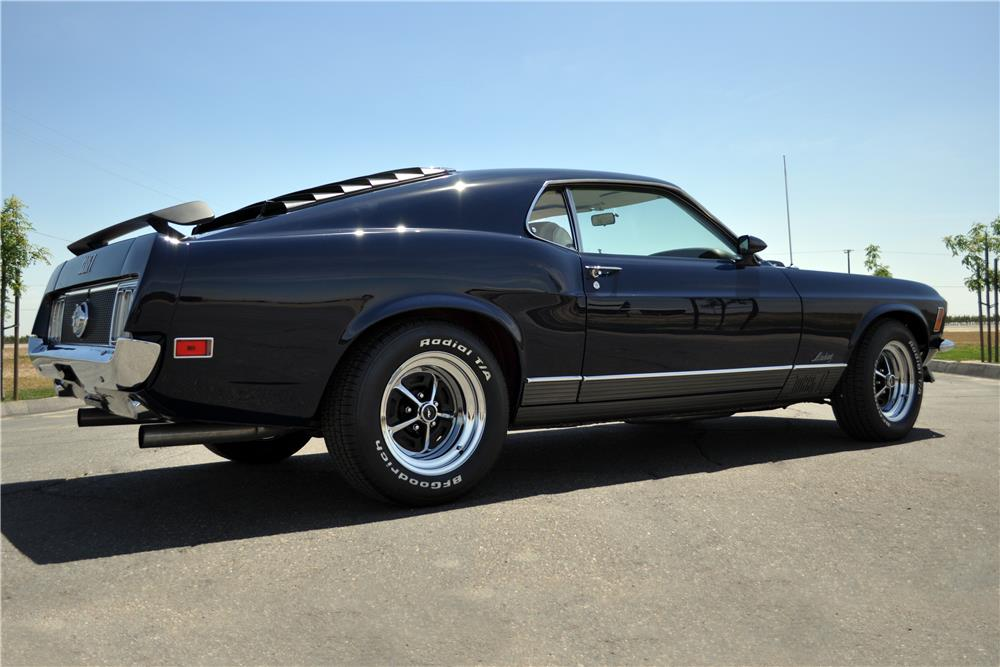 1970 FORD MUSTANG MACH 1 428 SCJ FASTBACK - Side Profile - 185522