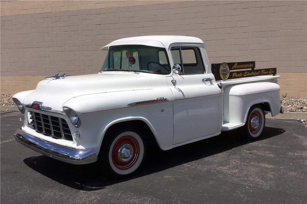 1956 CHEVROLET 3200 CUSTOM PICKUP - Side Profile - 185534
