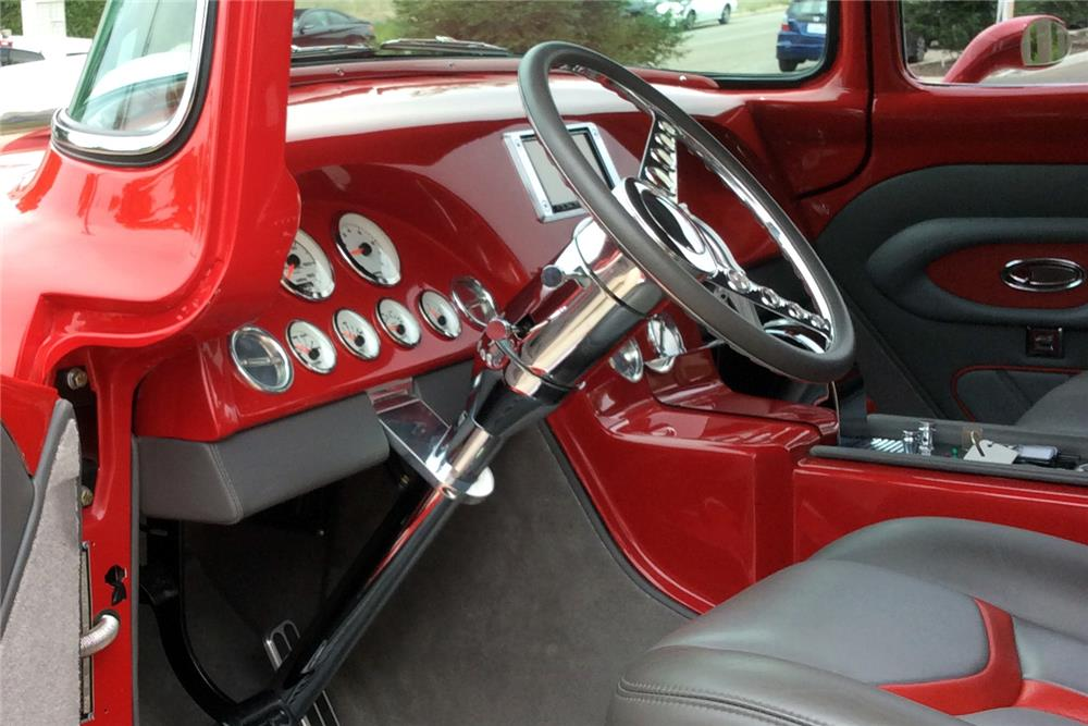 1956 FORD F-600 CUSTOM PICKUP - Interior - 185538