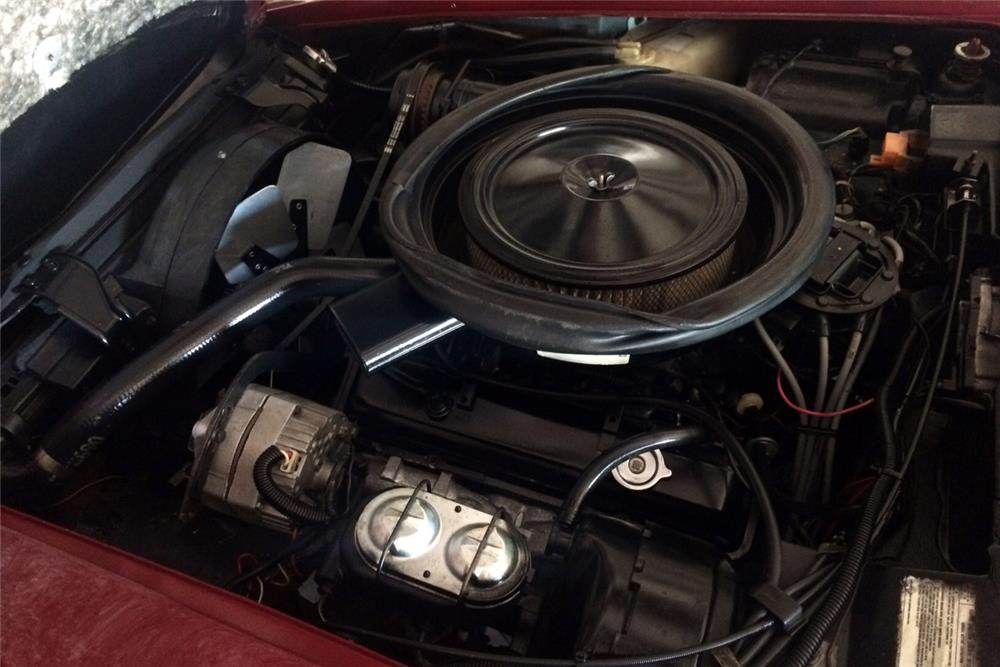 1975 CHEVROLET CORVETTE CONVERTIBLE - Engine - 185543