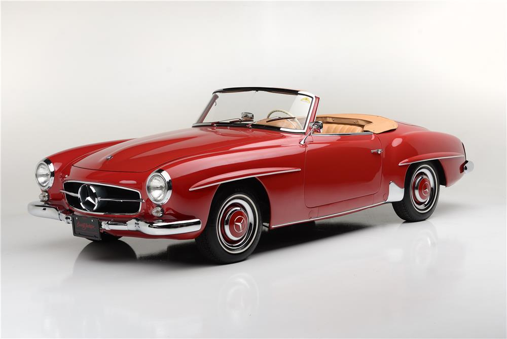1959 MERCEDES-BENZ 190SL CONVERTIBLE - Front 3/4 - 185544