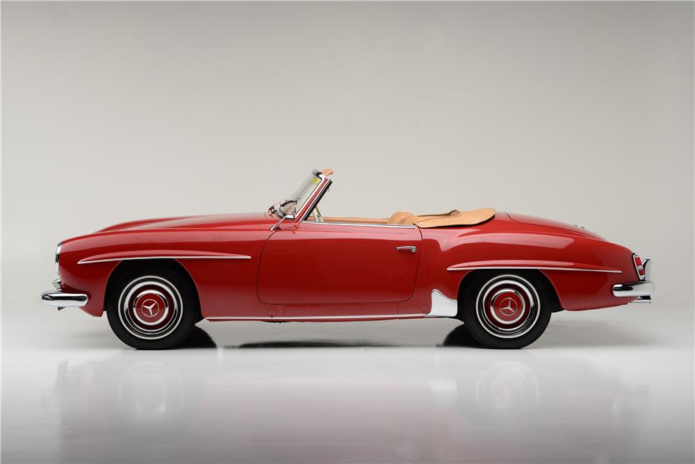 1959 MERCEDES-BENZ 190SL CONVERTIBLE - Side Profile - 185544