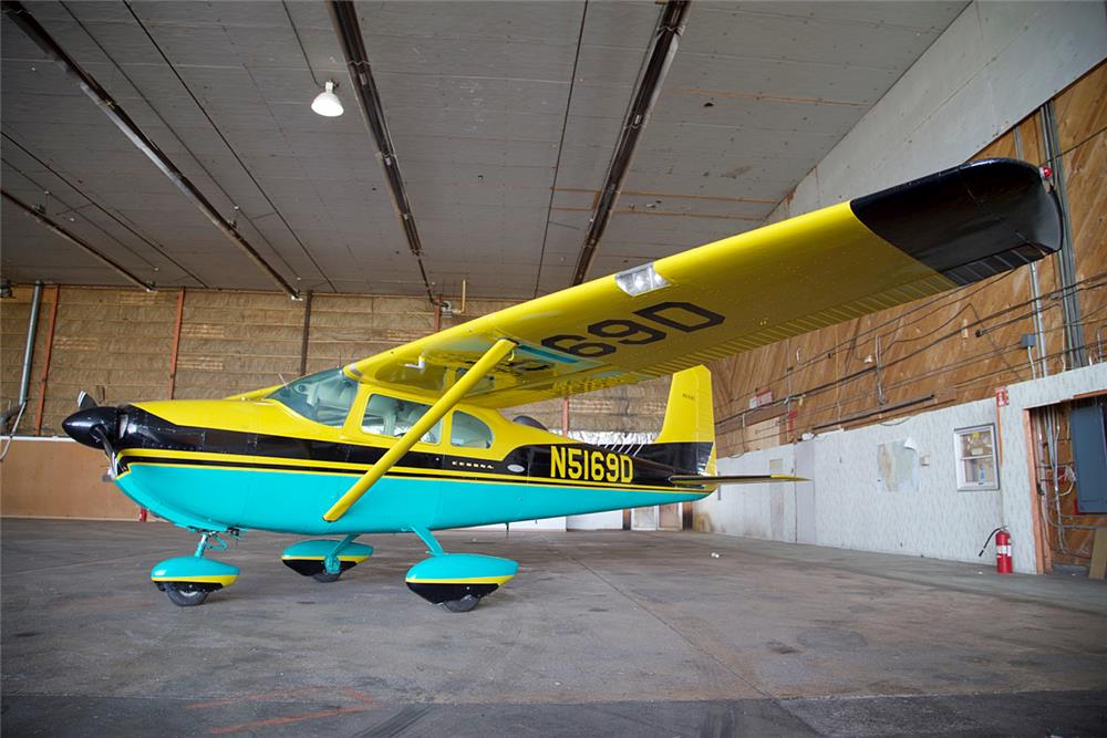 1958 CESSNA 182A FIXED-WING SINGLE-ENGINE PLANE - Front 3/4 - 185547