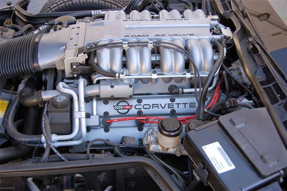 1990 CHEVROLET CORVETTE ZR1 - Engine - 185555