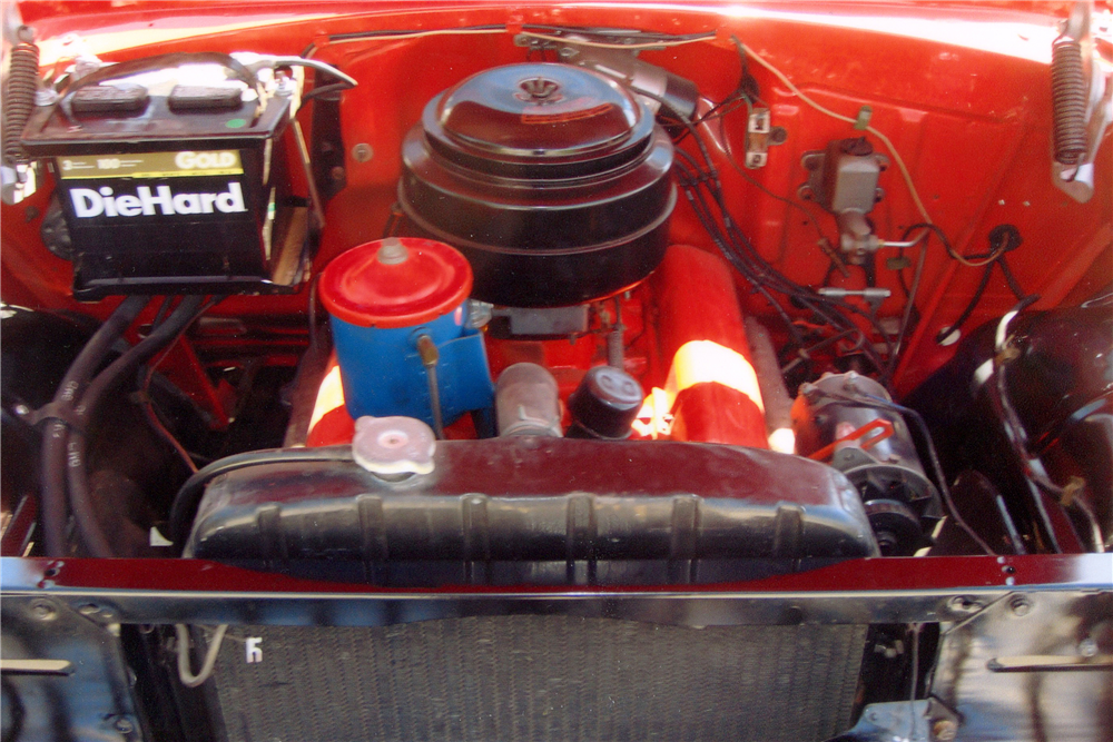 1955 CHEVROLET BEL AIR CONVERTIBLE - Engine - 185561