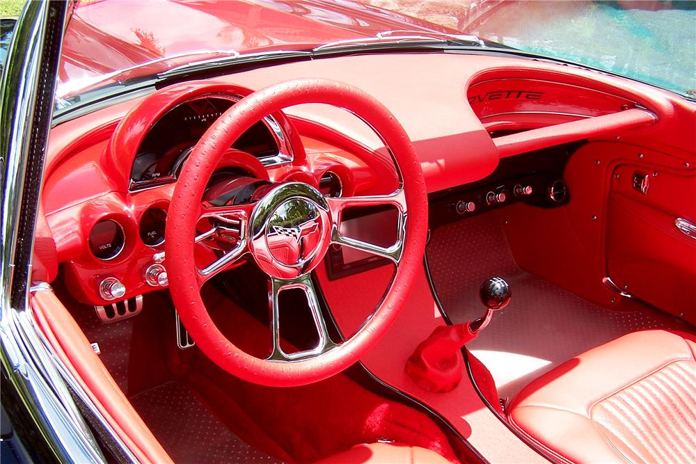 1962 CHEVROLET CORVETTE LS3 CONVERTIBLE - Interior - 185567