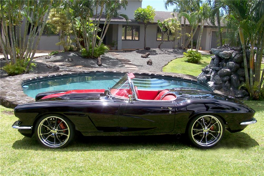 1962 CHEVROLET CORVETTE LS3 CONVERTIBLE - Side Profile - 185567