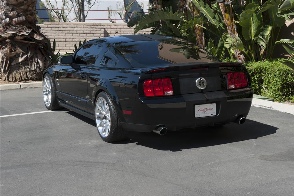 "2008 FORD MUSTANG GT ""KITT"" FROM KNIGHT RIDER - Rear 3/4 - 185584"