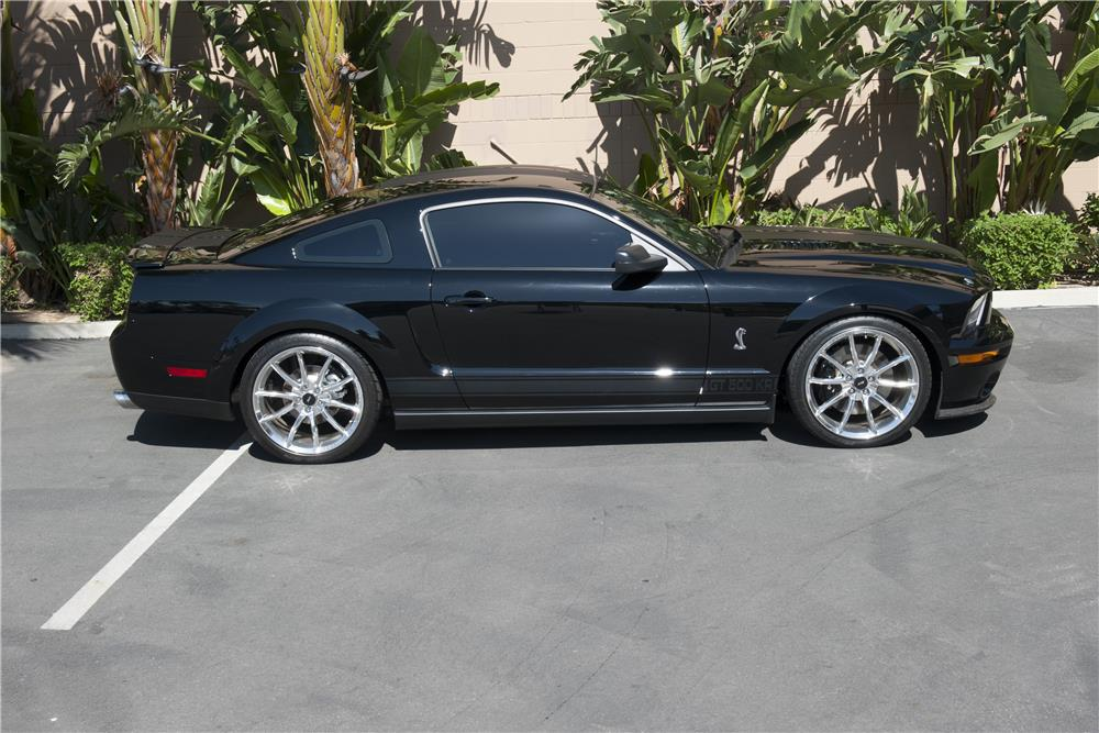 "2008 FORD MUSTANG GT ""KITT"" FROM KNIGHT RIDER - Side Profile - 185584"
