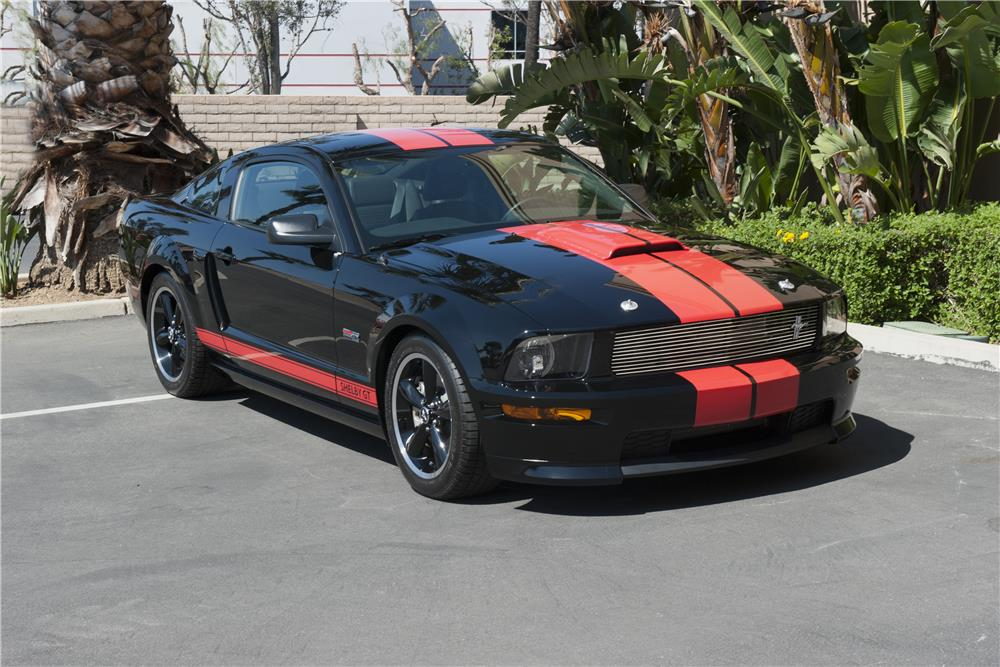 2008 FORD SHELBY GT BARRETT-JACKSON EDITION - Front 3/4 - 185586