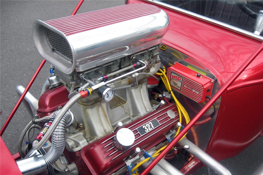 1923 FORD T-BUCKET ROADSTER - Engine - 185598