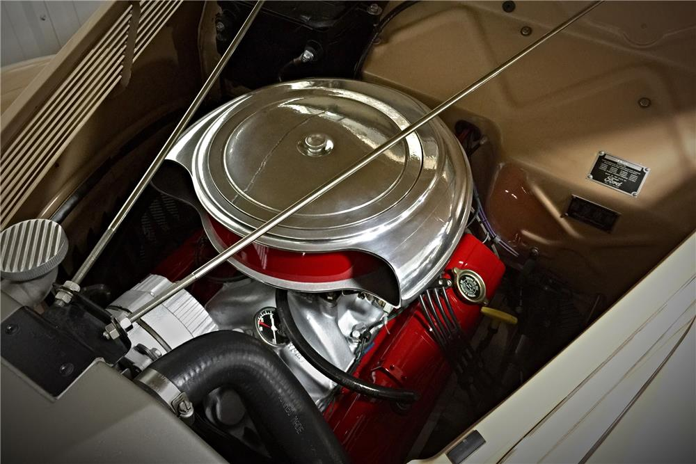 1937 FORD DELUXE CUSTOM COUPE - Engine - 185613