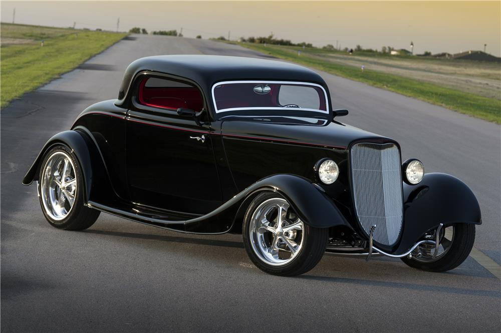 1933 ford 3 window custom coupe 185617