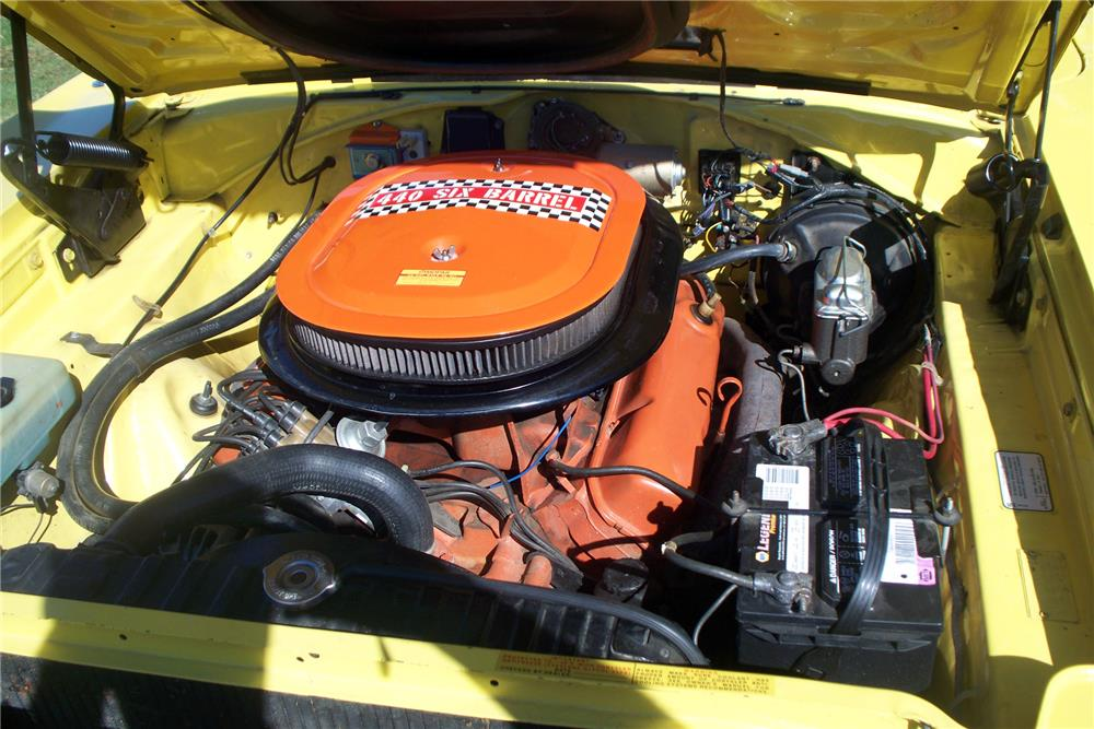 1970 PLYMOUTH ROAD RUNNER  - Engine - 185627