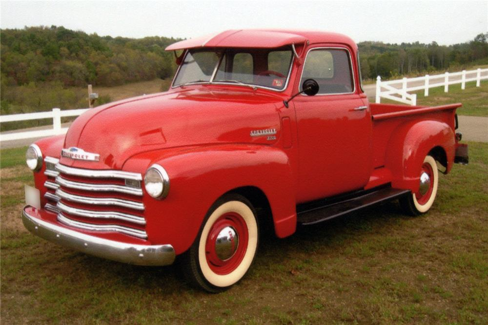 1949 CHEVROLET 3100 PICKUP - Front 3/4 - 185638