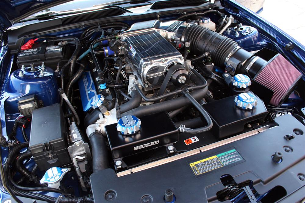 2008 FORD SHELBY GT500 KR  - Engine - 185645